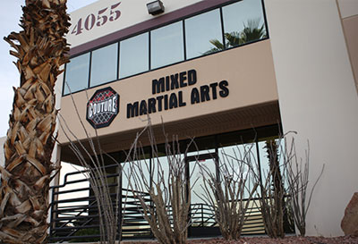 Xtreme Couture Gym Building